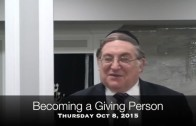 Becoming a Giving Person