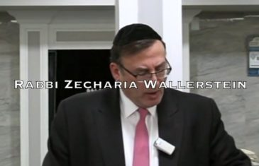Rabbi zecharia wallerstein dating and marriage